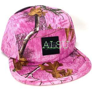VANS Realtree Hat SnapBack Back Pink Cap AUTHENTIC
